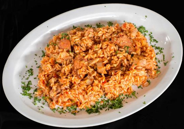 plate of rice