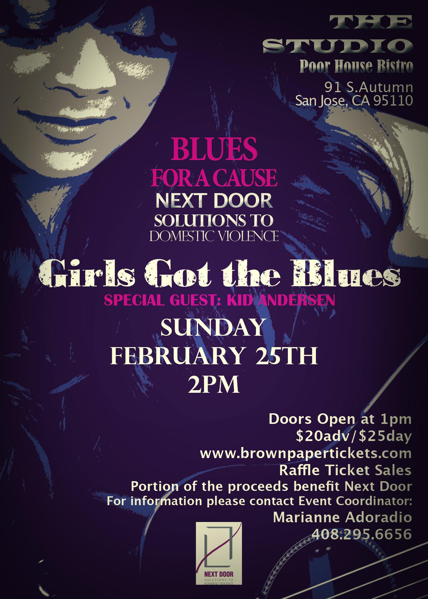 girls got the blues flyer