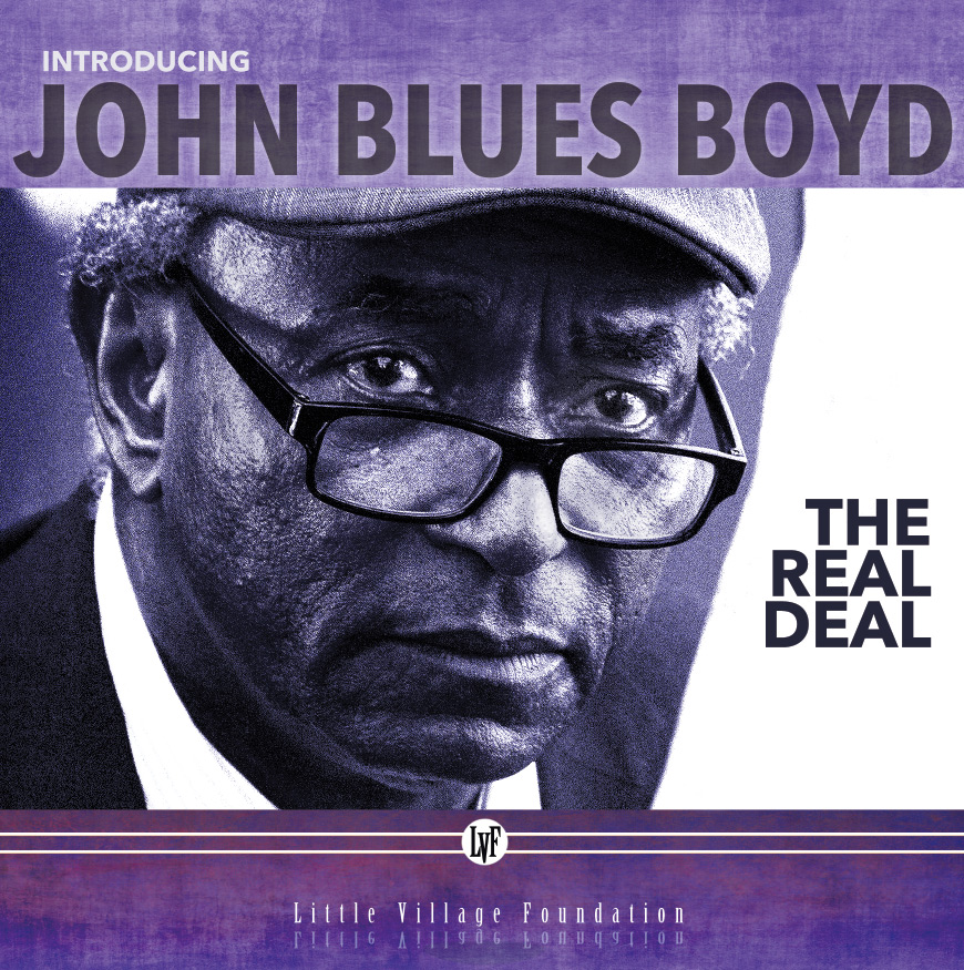 john blues boyd CD cover